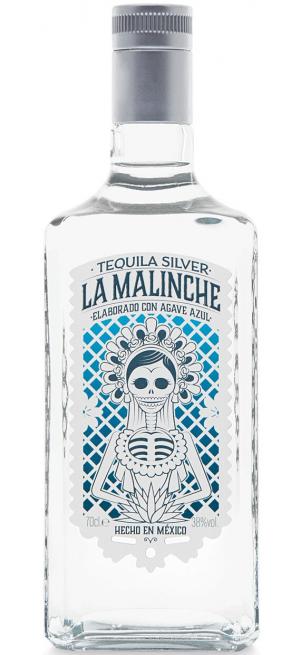 """Текила """"La Malinche"""" Silver, 0.7 л"""