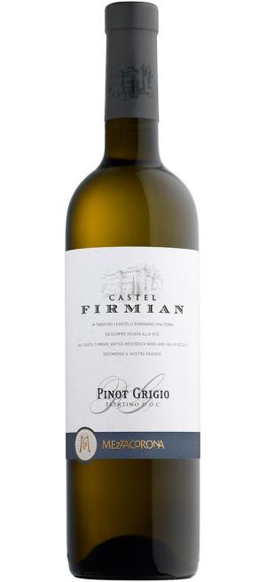 "Вино ""Castel Firmian"" Pinot Grigio, Trentino DOC, 2019, 0.375 л"