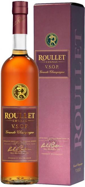 "Коньяк ""Roullet"" VSOP, gift box, 0.7 л"