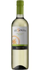 """Вино San Pedro, """"35° South"""" Sauvignon Blanc, Central Valley DO, 0,75 л"""