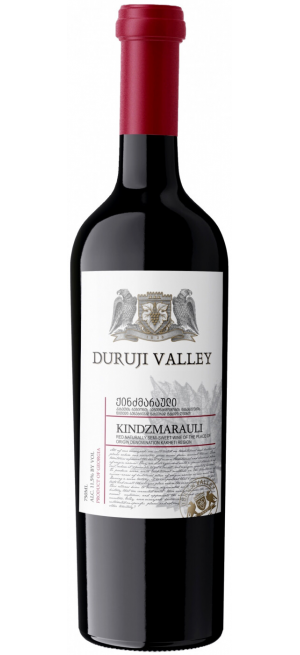 """Вино """"Duruji Valley"""" Kindzmarauli, 2019, 0.75 л"""