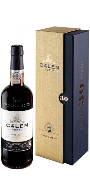 """Портвейн """"Calem"""" 30 Years Old Tawny Porto, gift box, 0.75 л"""