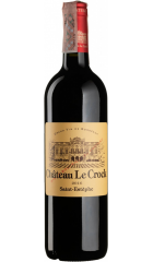 Вино Chateau Le Crock, Cru Bourgeois, 2016, 0.75 л