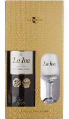 "Херес Lustau, ""La Ina"" Fino Sherry, gift box with glass, 0.75 л"