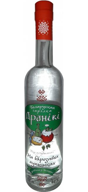"""Водка """"Драники"""" На березовых почках, 0.5 л"""