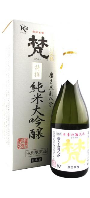 "Саке ""Born"" Daiginjo, gift box, 1 л"
