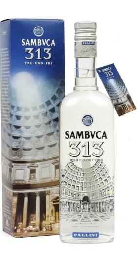 Ликер Pallini, Sambvca 313, gift box, 0.7 л