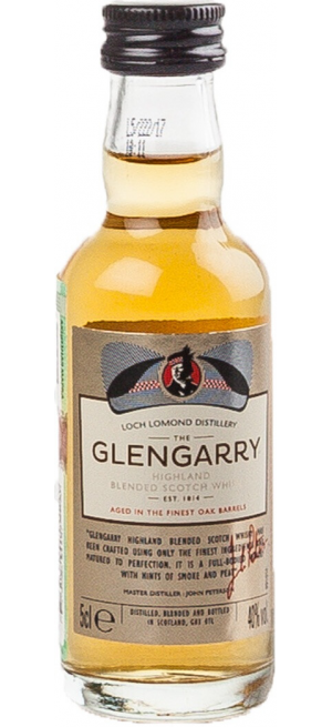 "Виски ""Glengarry"" Blended, 50 мл"