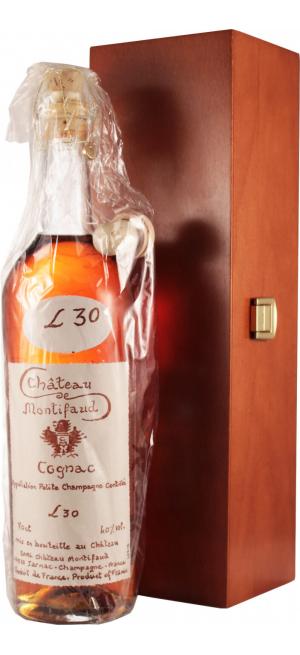 Коньяк Chateau de Montifaud 30 Years Old, Fine Petite Champagne AOC, wooden box, 0.7 л