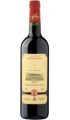 Вино Chateau de l'Orangerie, Bordeaux Rouge AOC, 2018, 1.5 л, 0.75 л