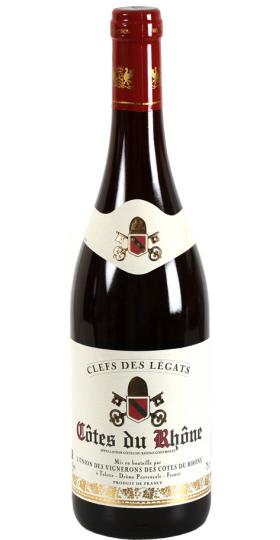"""Вино Cellier des Dauphins, """"Clefs de Legats"""" Cotes du Rhone AOC, 2018, 0.75 л"""