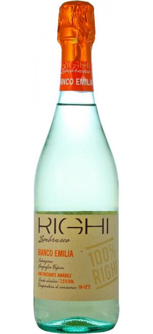 Игристое вино Righi, Lambrusco Bianco, Emilia IGT, 0.75 л