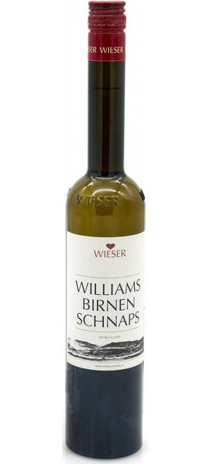 """Шнапс """"Wieser"""" Williamsbirnenschnaps, 0.5 л"""