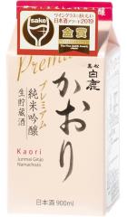 "Саке ""Kaori"" Junmai Ginjo, 0.9 л"