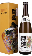 Саке Kaiun Tokubetsu Junmai, gift box, 720 мл
