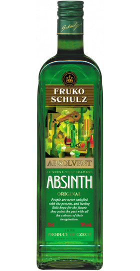 Абсент Fruko Schulz, Absinth Absolvent, 0.5 л
