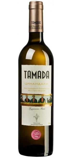 "Вино ""Тамада"" Цинандали 0.75 л"