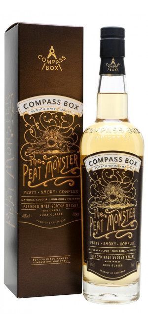Виски Compass Box The Peat Monster, gift box, 0.7 л