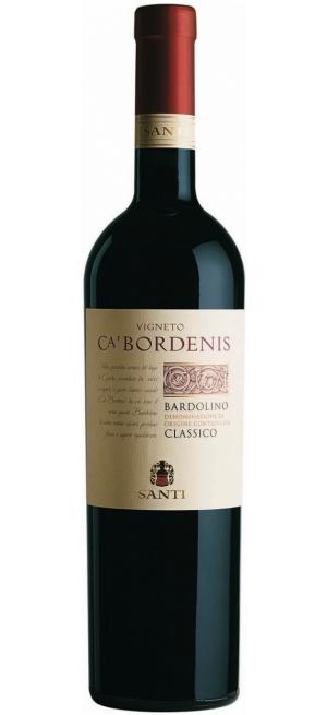 "Вино Santi, ""Vigneto Ca' Bordenis"" Bardolino Classico DOC, 2017, 0.75 л"