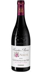 """Вино """"Saintes Pierres de Nalys"""" Rouge, Chateauneuf-du-Pape AOC, 2016, 0.75 л"""