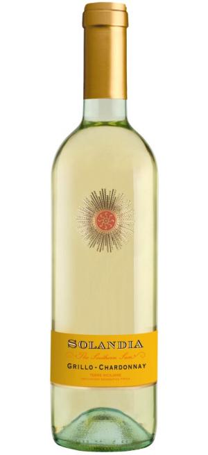 """Вино """"Solandia"""" Grillo-Chardonnay, Terre Siciliane IGT, 2017, 0.75 л"""
