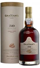 Портвейн Graham's 30 Year Old Tawny Port, gift tube, 0.75 л