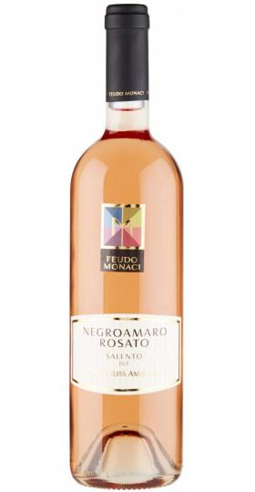 Вино Feudo Monaci, Negroamaro Rosato, Salento IGT, 2018, 0.75 л