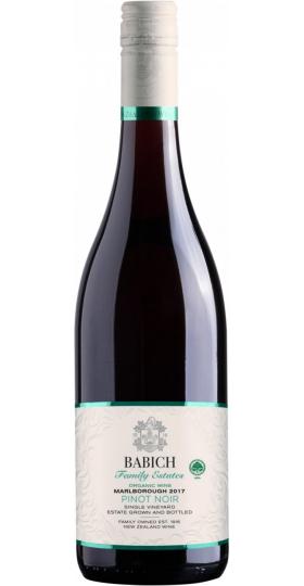 "Вино Babich Wines, ""Family Estates"" Headwaters Organic Pinot Noir, 2017, 0.75 л"