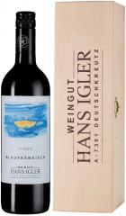 Вино Hans Igler, Blaufrankisch Classic, Mittelburgenland DAC, 2016, gift box, 0.75 л