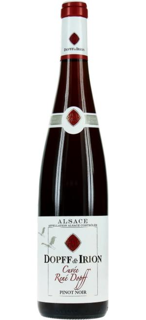 "Вино ""Cuvee Rene Dopff"" Pinot Noir, Alsace AOC, 2017, 0.75 л"