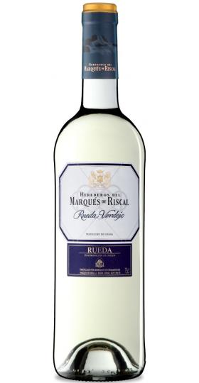 """Вино """"Herederos del Marques de Riscal"""", Rueda Verdejo, 2016, 0.75 л"""