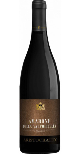 """Вино """"Aristocratico"""" Amarone della Valpolicella DOCG, 2013, 0.75 л"""