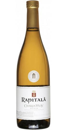 "Вино ""Rapitala"" Chardonnay, Sicilia DOC, 0.75 л"