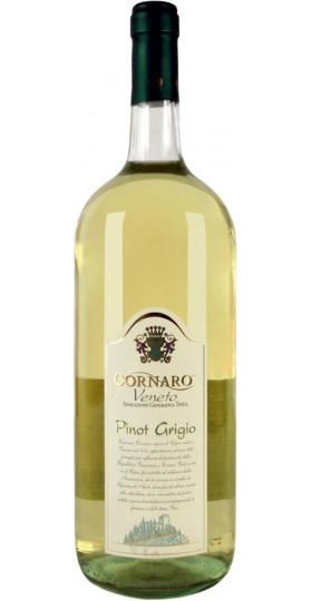 "Вино ""Cornaro"" Pinot Grigio, Veneto IGP, 1.5 л"