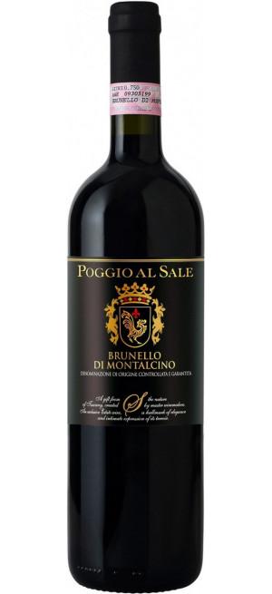"""Вино """"Poggio al Sale"""" Brunello di Montalcino, 2012, 0.75 л"""