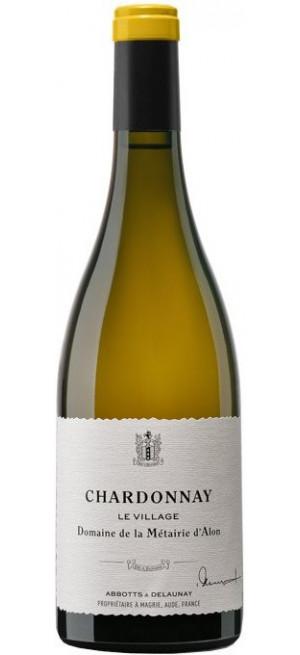"""Вино Domaine de la Metairie d'Alon, Chardonnay """"Le Village"""", Pays d'Oc IGP 2016, 0.75 л"""