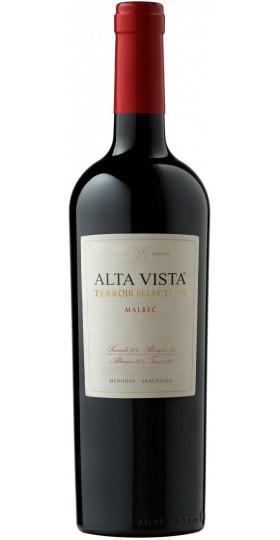 "Вино Alta Vista, Malbec ""Terroir Selection"", 2017, 0.75 л"