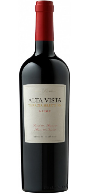 "Вино Alta Vista, Malbec ""Terroir Selection"", 2017, 0.75 л"