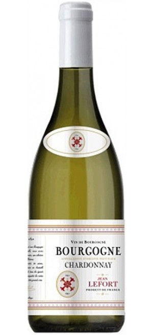 Вино Jean Lefort, Bourgogne Chardonnay AOP, 2018, 0.75 л