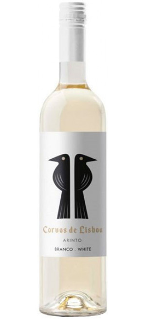 "Вино Casa Santos Lima, ""Corvos de Lisboa"" Arinto, 2018, 0.75 л"