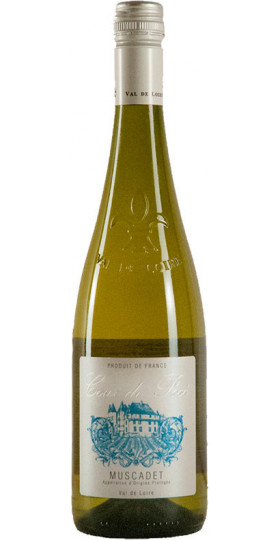 """Вино Pierre Chainier, """"Cour de Poce"""" Muscadet, Anjou AOC, 0.75 л"""