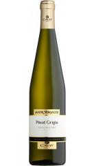 """Вино """"Mastri Vernacoli"""" Pinot Grigio, Trentino DOC, 2017, 0.75 л"""