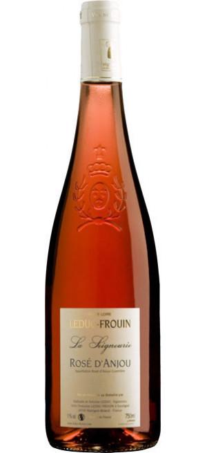"""Вино Domaine Leduc-Frouin, """"La Seigneurie"""", Rose d'Anjou AOC, 2017, 0.75 л"""