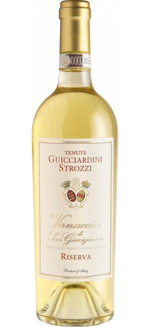 Вино Guicciardini Strozzi, Vernaccia di San Gimignano DOCG Riserva, 2015, 0.75 л