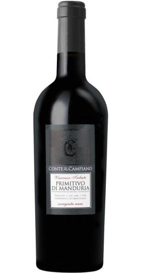 """Вино """"Conte di Campiano"""" Primitivo di Manduria DOC, 0.75 л"""