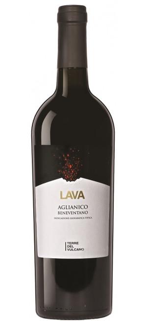"""Вино Terre del Vulcano, """"Lava"""" Aglianico Beneventano IGT, 0.75 л"""