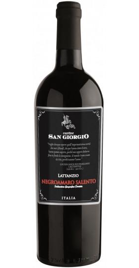 "Вино Cantine San Giorgio, ""Lattanzio"" Negroamaro, Salento IGP, 2019, 0.75 л"