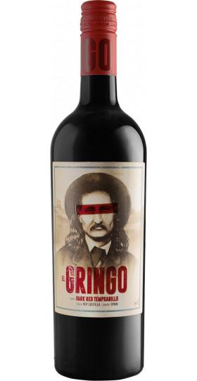 """Вино """"El Gringo"""" Dark Red Tempranillo, Castilla Vdt, 0.75 л"""