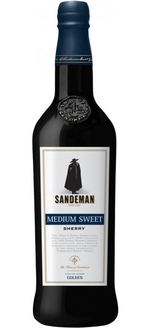 Херес Sandeman, Medium Sweet Sherry, 0.75 л