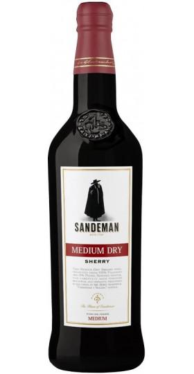 Вино Sandeman, Medium Dry Sherry, 0.75 л